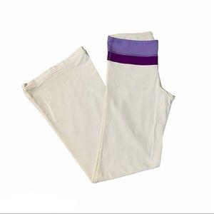 LULULEMON Reversible Groove Pants White Size 6